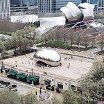 Rooftop view of Millennium Park.