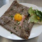 Egg, Ham and Cheese (Menu)