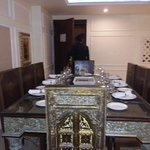 Presidential suit dinning table