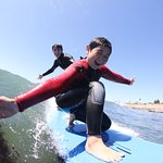 The kids are always having fun at Surf School Santa Cruz!
