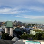 View from top of Sentosa Merlion Statue