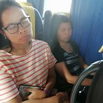 our group in bus