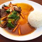 No.49. Stir fried beef with rice #yummm