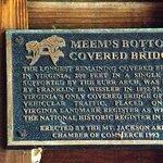 ภาพถ่ายของ Meems Bottom Covered Bridge
