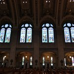 Check out the stained glass windows...