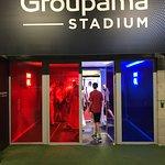 Foto de Visite du Groupama Stadium