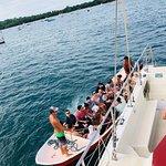 The boat you take to the Catamaran