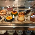 The pastry case.