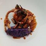 Veaux girolles / Ecrasé de pomme de terre vitelotte