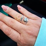 "I love my new ring, ""Newfoundland Wave"". Beautiful handcrafted delights here!!"