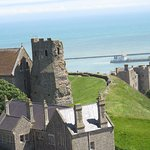 The Roman Lighthouse on Dover Castle Grounds