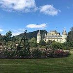 Inveraray Castle, where Downton Abbey shot their Scotland episodes
