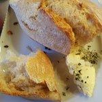 Wunderbares Brot mit Beilage