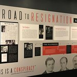 Watergate Exhibit at Nixon Library