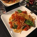 Spaghetti Pomodori with Basil