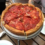 A must try if you're in Chicago! Delicious deep dish pizza!