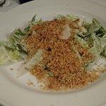 Caesar salad - too many breadcrumbs
