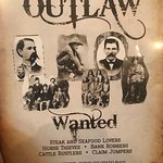 Foto de Outlaw Restaurant