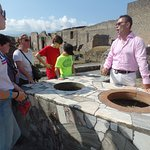 Pompeii and our guide