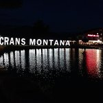 Crans Montana by night!!!