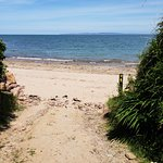 A short walk from Seaview House and you're on the beach