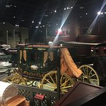 One of the many beautifully restored exhibits