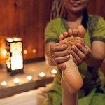 Leg massage / Массаж ног