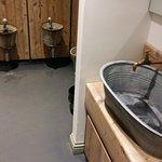 Gents toilets and wash basin