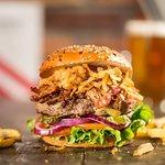 Cowboy Triple Meat Burger