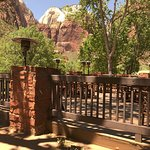 View from Red Rock Grill.