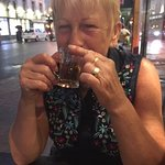 Lovely mint tea to finish a fantastic meal