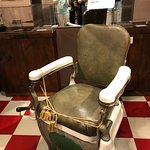 Barber's chair Martin Luther King, jr. sat in to get his hair cut
