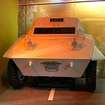 Bull Connor's white tank used to suppress the Children's Crusade