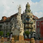 St, Mary Statue in Liberty Square of Timisoara