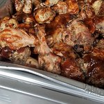 our catering menu includes Bbq chicken made with our homemade bqq sauce!