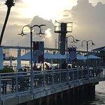 Sunset over Kemah Boardwalk