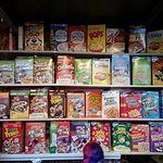 Cereal choices.