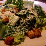 The Salt Air Caesar with romaine hearts, shaved Parmesan, croutons and buttermilk Caesar dressin