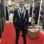 Custom made suit !!
