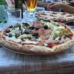 Pizza chorizo et sans gluten