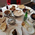 Peshawari Nan, Roti, Sagwala, homemade lamb and others