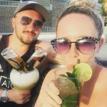 Cocktails in the sun