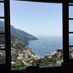 Lunch stop in Positano