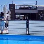Ristorante CHALET MURENA_esterno piscina e terrazza primo piano