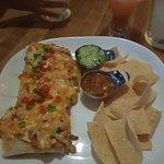 Delicious enchilada