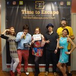 This groovy crew foiled the Doctor's plans! Thank you guys!