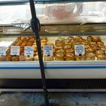 Lots of pies for sale