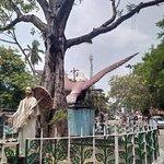 The famous Banyan Tree and the Garuda at the East Mada.