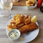 Vegan fish & chips 😍
