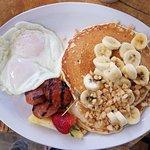 Lava java breakfast pancake $14